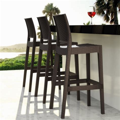 restaurant outdoor bar stools outdoor bar stools spice up your outdoor decor