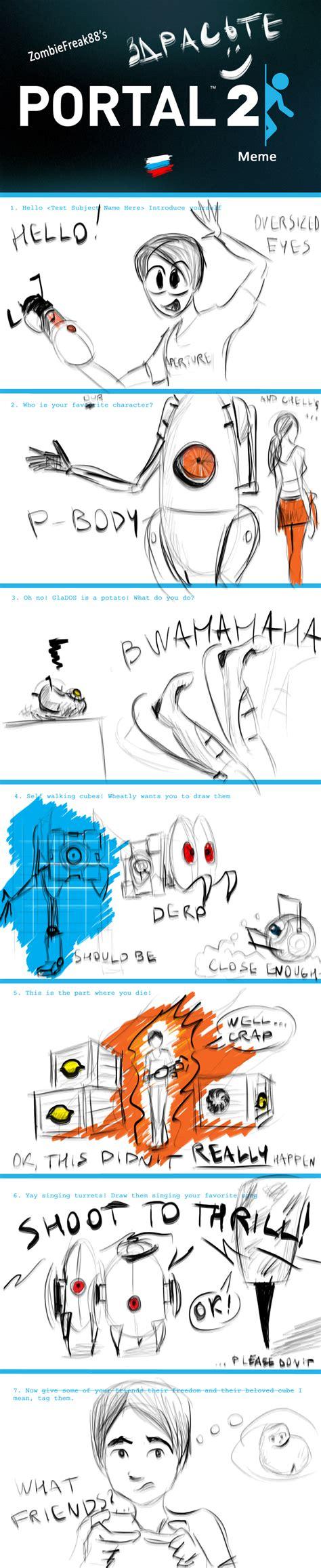 Portal Memes - portal 2 meme by iproton on deviantart