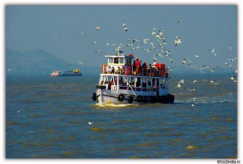 boats birds go2india in elephanta caves boats and birds