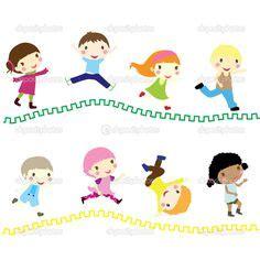 imagenes niños corriendo ni 241 os corriendo dibujo animado buscar con google