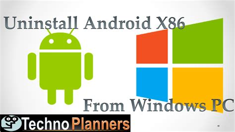 tutorial android x86 how to uninstall android x86 4 3 4 4 5 0 from your pc and