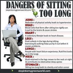 Health Risks Of Sitting At A Desk All Day by 1000 Images About Dangers Of A Sedentary Lifestyle On