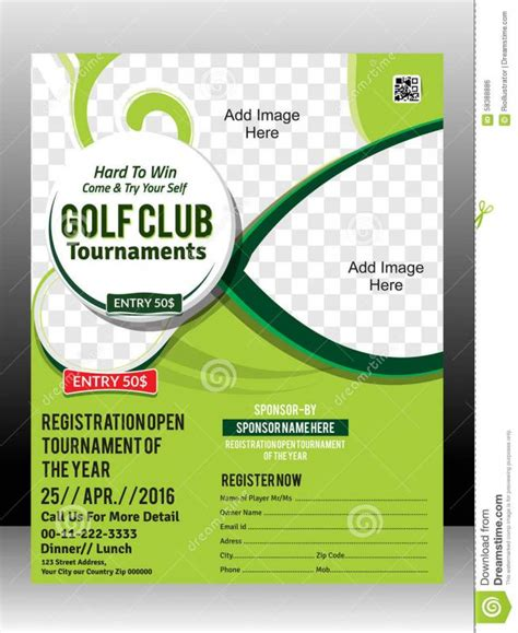 golf membership card template free golf tournament flyer template beneficialholdings info