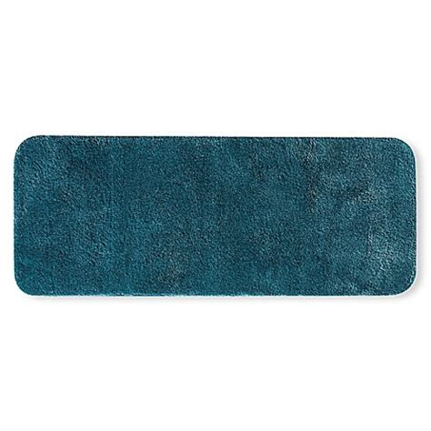 60 Inch Bath Rug Buy Wamsutta 174 Duet 24 Inch X 60 Inch Bath Rug In Teal From Bed Bath Beyond