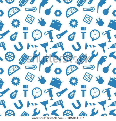seamless pattern tool tools pattern stock images royalty free images vectors