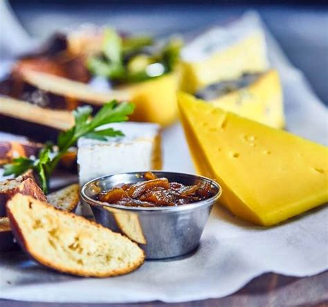 ale house specials cheese board wine special at villains