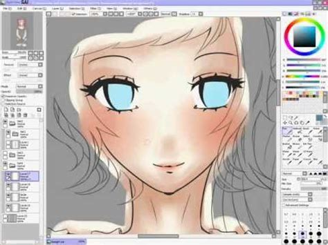 paint tool sai coloring tutorial mouse paint tool sai coloring tutorial