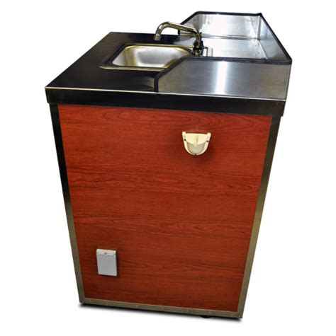 food cart with sink sink cart portable concession cart topdogcarts com