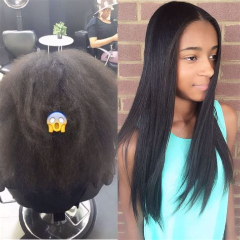 silk straightening natural hair 17 best images about the best silk press styles on