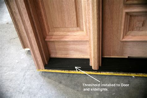 Interior Door Threshold Wooden Exterior Door Threshold Shop King 5 625 In X 36 In Silver Wood Aluminum Wood Door