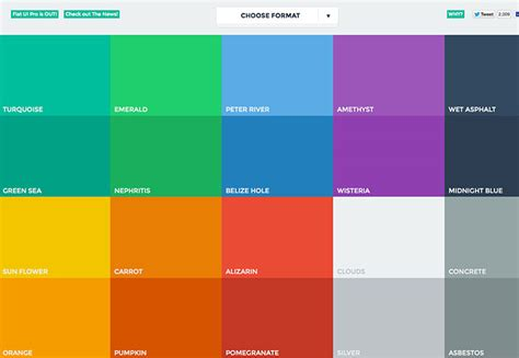 design color schemes the ultimate guide to flat design webdesigner depot