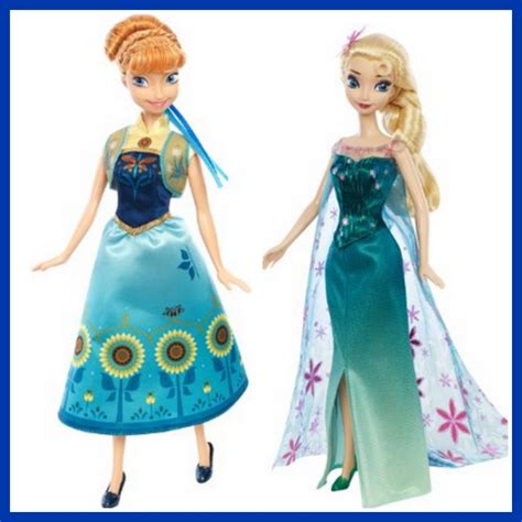 Promo Legging Printing Frozen Fever elsa and frozen fever dolls only 11 99 each reg 14 99 couponing with