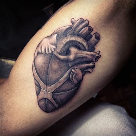 sports tattoos for men 40 basketball designs and ideas for i luve sports