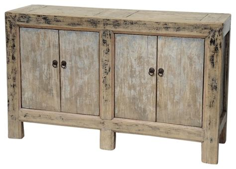rustic sideboards and buffets vintage painted sideboard cabinet rustic buffets and sideboards by terra designs