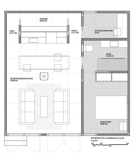 550 Sq Ft 550 Sq Ft Modern Prefab House 009 Simple Living