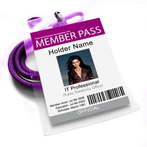 member id card template id card 3 by leenidesigns on deviantart
