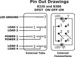 any one 7 pin rocker switch wiring diagram page 1 iboats boating forums 263921