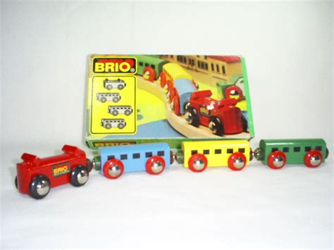 electric brio train wooden railroad history