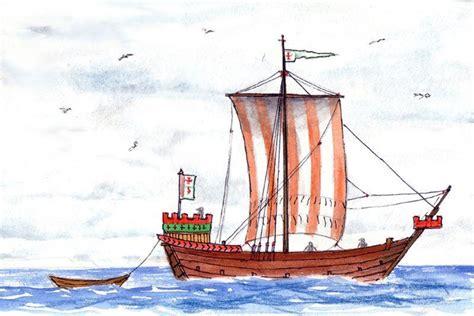 imagenes de barcos de la edad media una guerra durante la edad media visby suecia