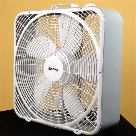 20 inch box fan air king 9723 20 inch portable electric box fan