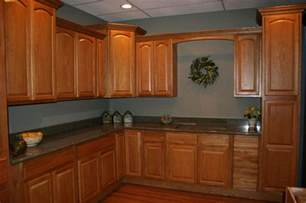 Kitchen Paint Ideas Oak Cabinets The World S Catalog Of Ideas