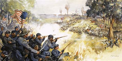 american civil war painting by edwin mcconnell