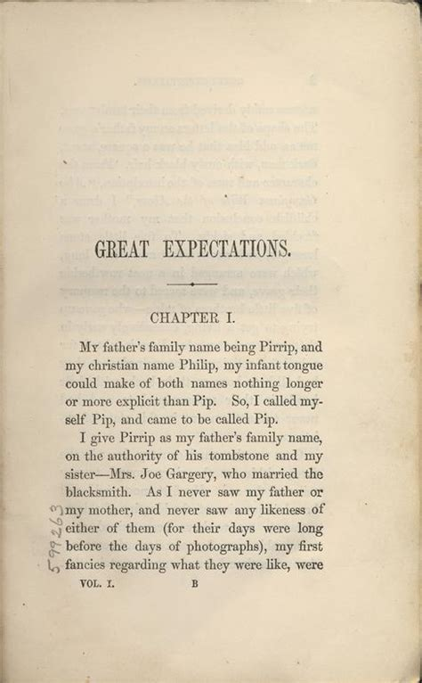 themes in great expectations chapter 1 dickens charles 1812 1870 great expectations in three
