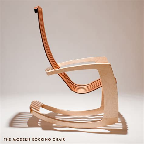 moderner schaukelstuhl j rusten furniture studio chairs