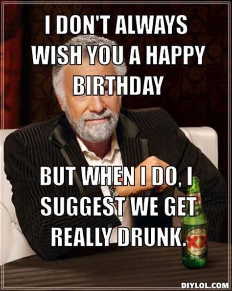 happy birthday wine memes    celebrate