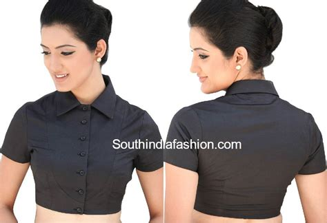 designs for collar neck blouse fashion trends south india fashion