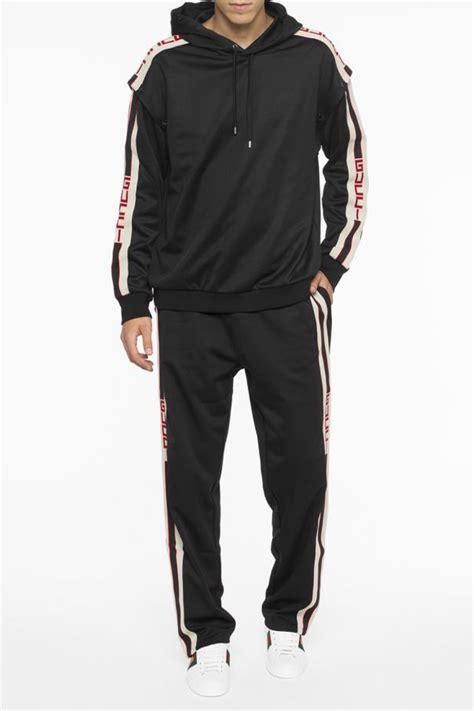 Drawstring Side Stripe Sweatpants side stripe sweatpants gucci vitkac shop