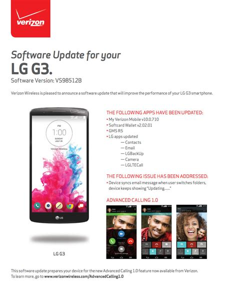 Call Lookup Verizon Lg G3 On Verizon Gets Advanced Calling 1 0 Volte In Update Droid