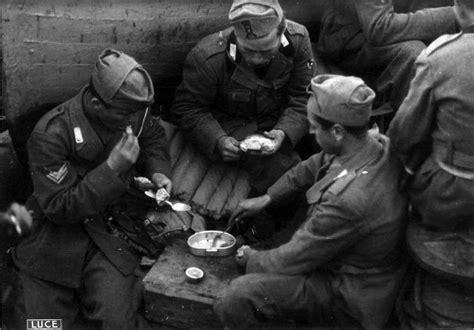 alimentazione durante la prima mondiale il rancio