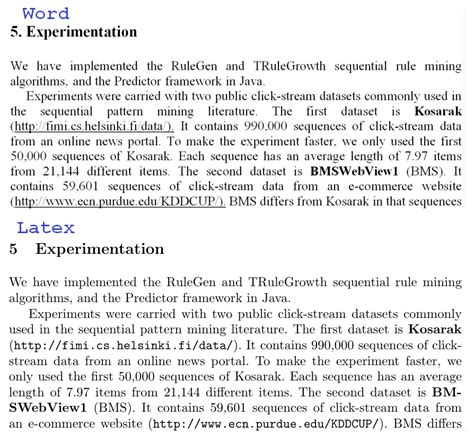 latex tutorial for research paper word vs latex4 the data mining blogthe data mining blog