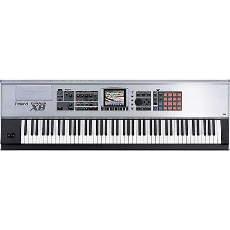 Keyboard Roland 88 Tuts Roland Fantom X8 88 Key Sling Workstation Musician S