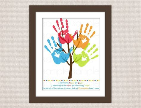 diy printable family tree hand print family tree crafts diy pinterest