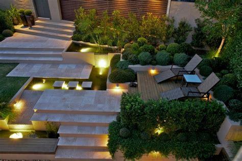 beleuchtung pflanzen moderner garten ideen wie sie einen perfekten garten