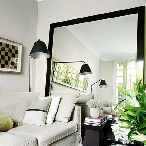 mirror wall decoration ideas living room best 25 oversized mirror ideas on pinterest decorating