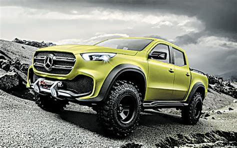 mercedes pickup 2017 from mercedes a premium pickup the seattle times
