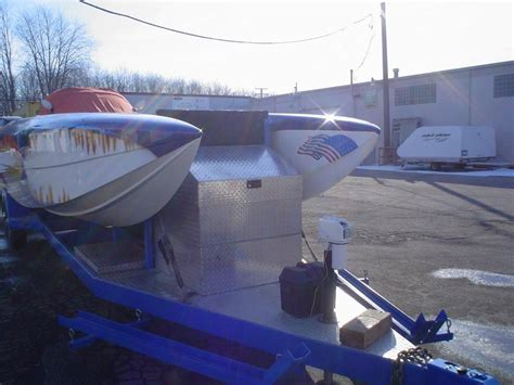 steel boat trailer for sale steel 30ft cat race trailer for sale or trade