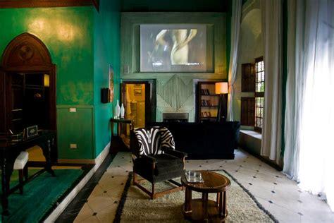 green wall designs decor ideas  living room