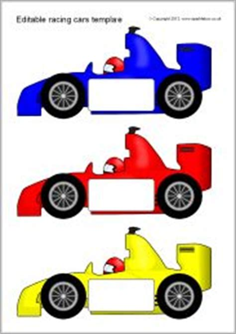 racing car template number on times tables multiplication and