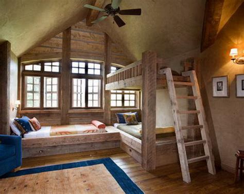 cabin bedroom decorating ideas for small space modern and latest rustic kids room designs interior vogue