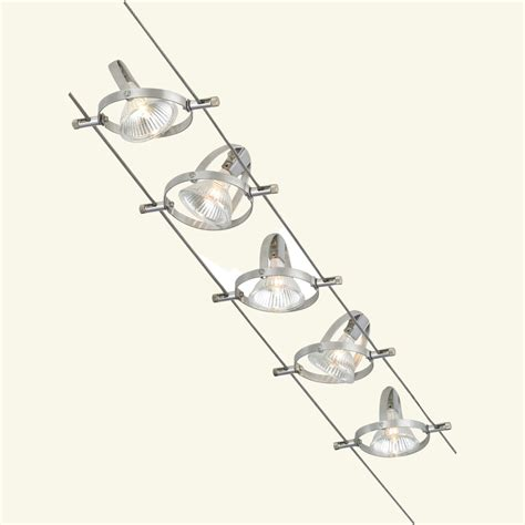 Wire Lighting Fixtures Tech Lighting 800cbl5pn 5 Easy Kits Accent Cable Lighting Kit Atg Stores