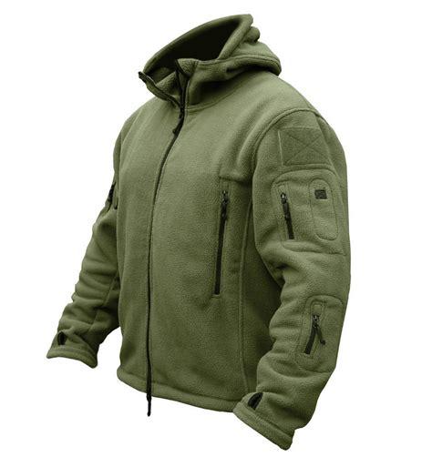 Jaket Vest Tactical Outdoor us fleece tactical jacket outdoor thermal breathable sport polar hooded
