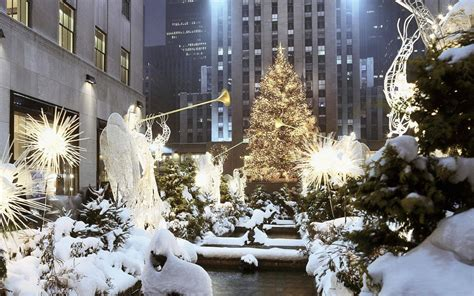 new york christmas desktop background hd 1920x1200