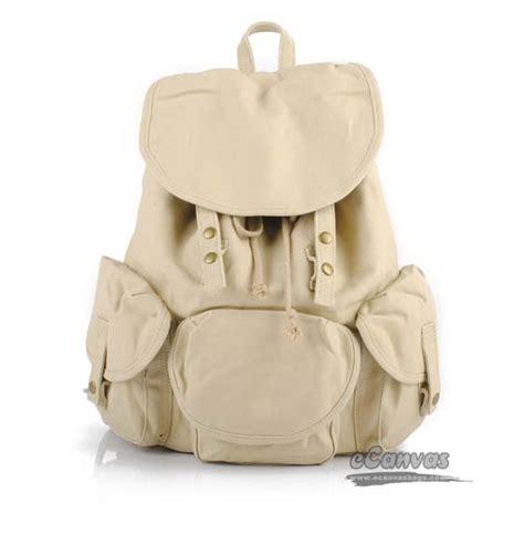 Bagpack Korea White white korean college students backpack leisure travel bags e canvasbags