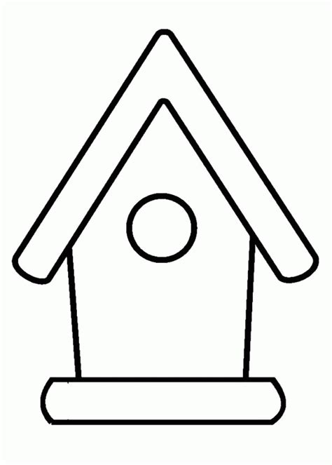 free coloring pages of bird houses birdhouse coloring page coloring home