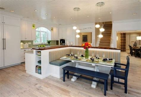 built in kitchen islands with seating kitchen island with built in seating home decor