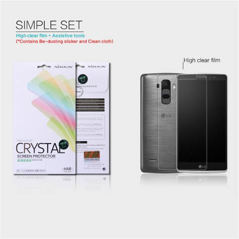 Nillkin Clear Screen Guard Protector Lg G3 Stylus D690 lg g4 stylus screen protector clear nillkin